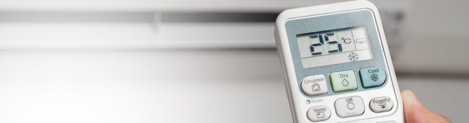 Airconditioning temperatuur